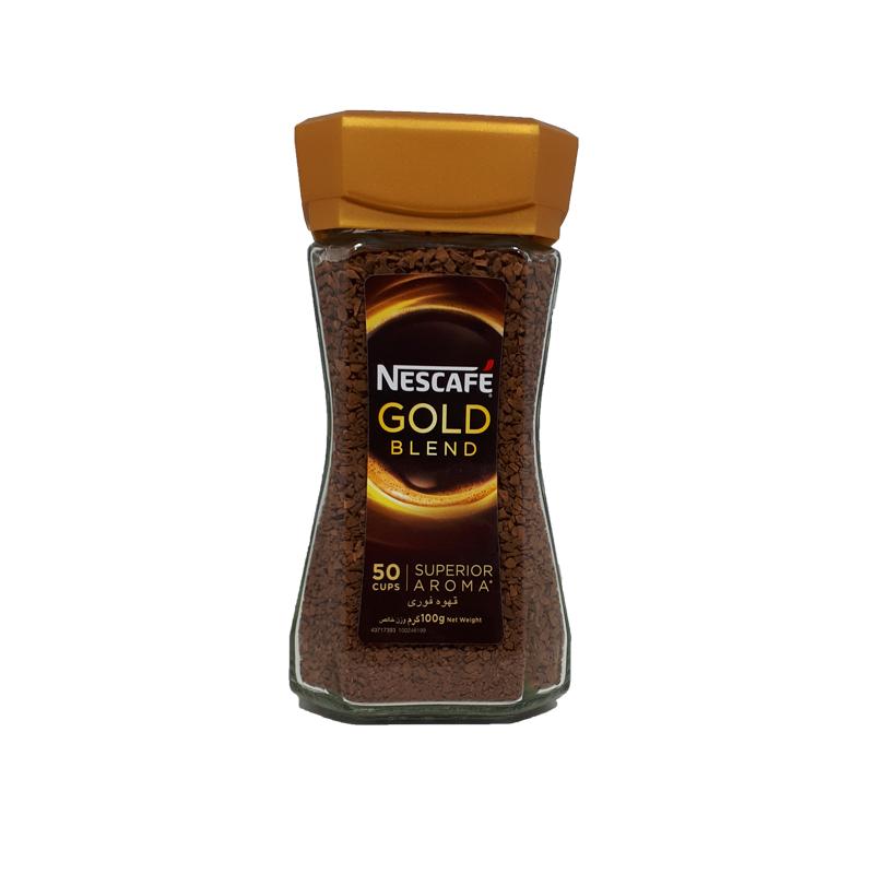 قهوه فوری گلد ۱۰۰ گرمی