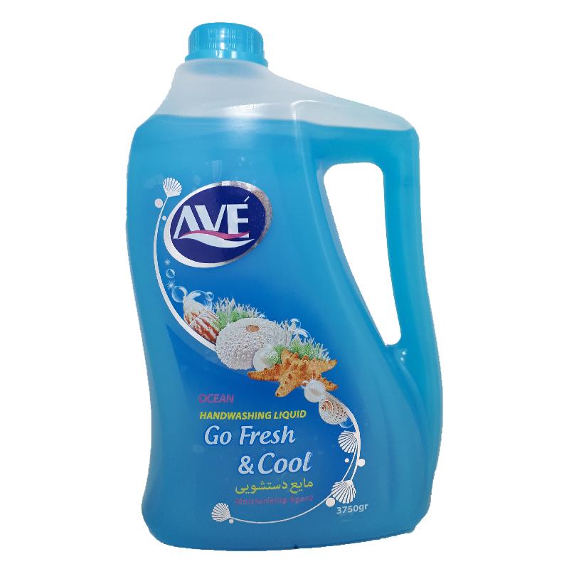 مایع دستشویی اوه ۴ لیتری آبی