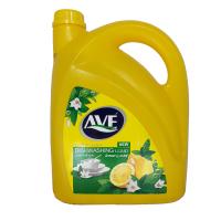 مایع ظرفشویی اوه ۴لیتری زرد