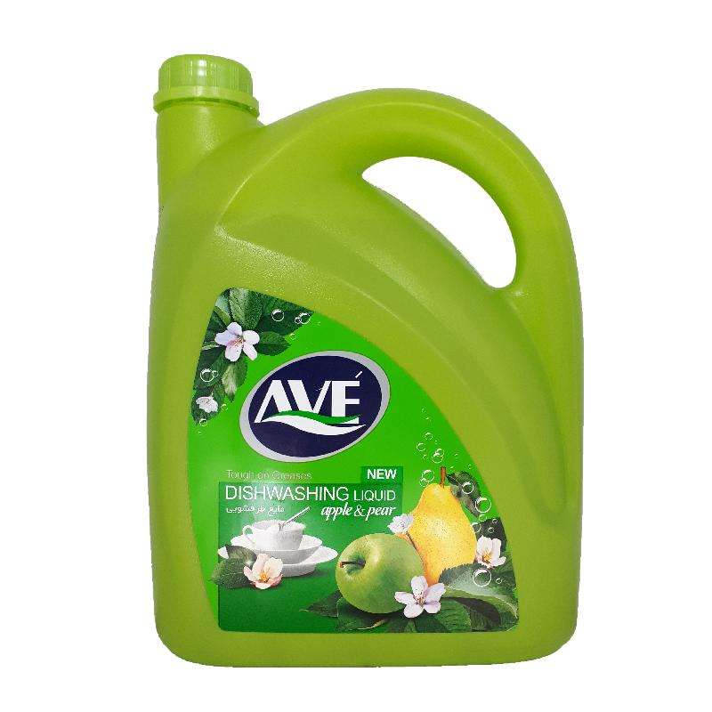 مایع ظرفشویی اوه ۴ لیتری سبز