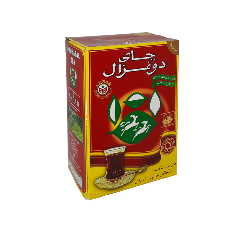 چای ۵۰۰گرمی ساده دوغزال