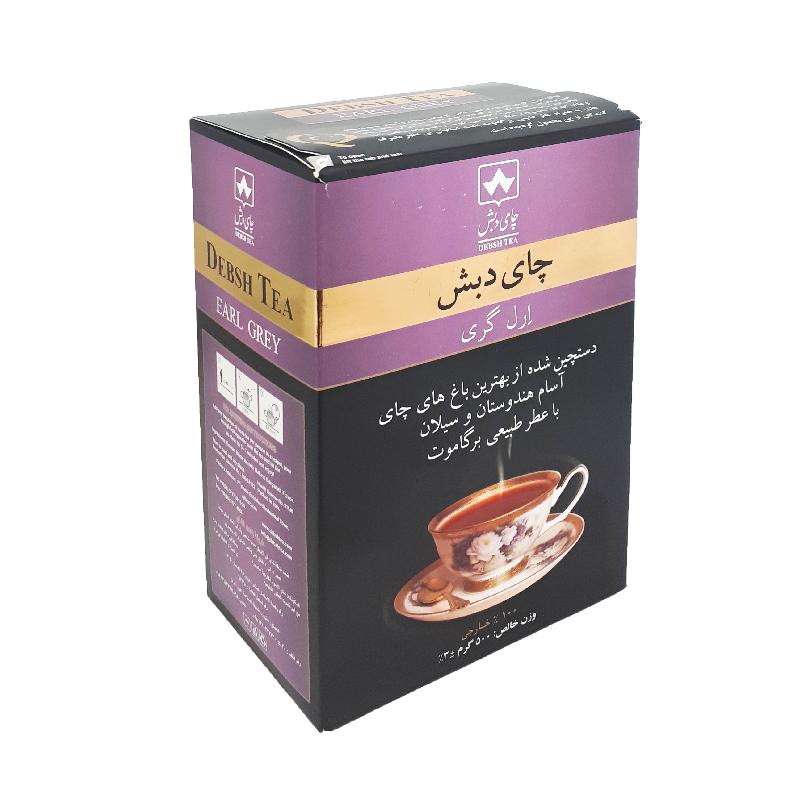 چای ۵۰۰ گرمی عطری دبش