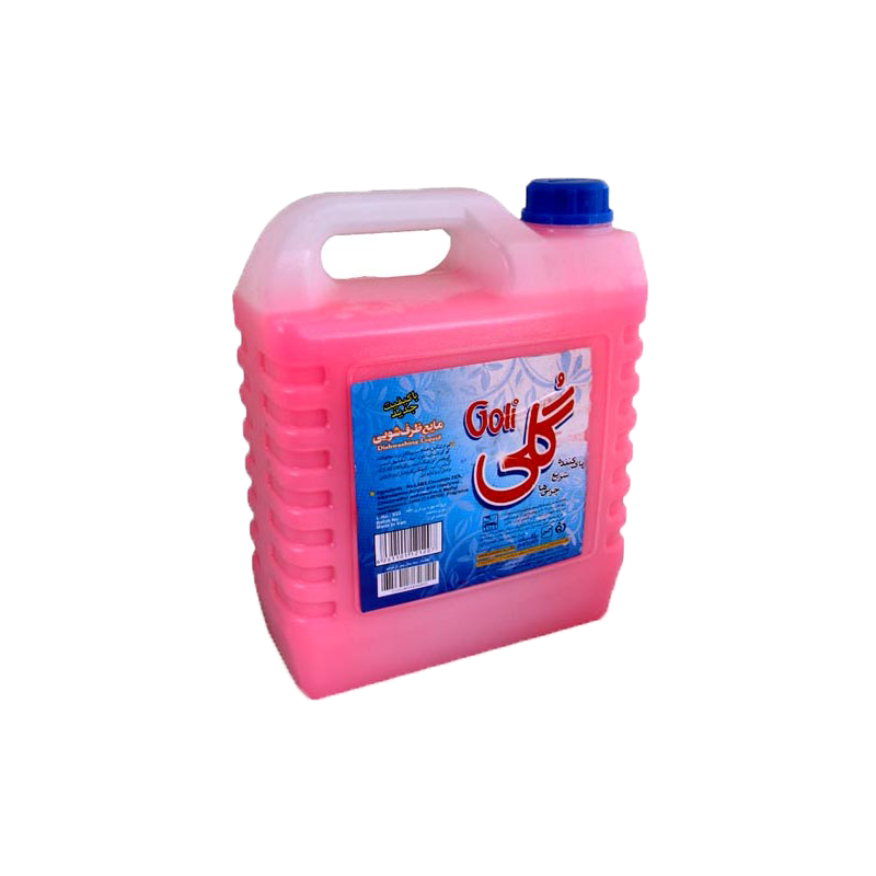 مایع ظرفشویی گلی ۴لیتری