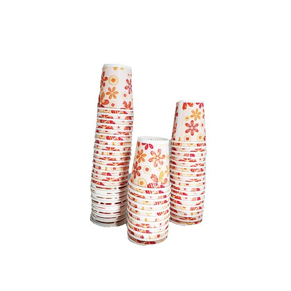 لیوان یکبار مصرف کاغذی کوچک (شات) بسته ۵۰ تایی