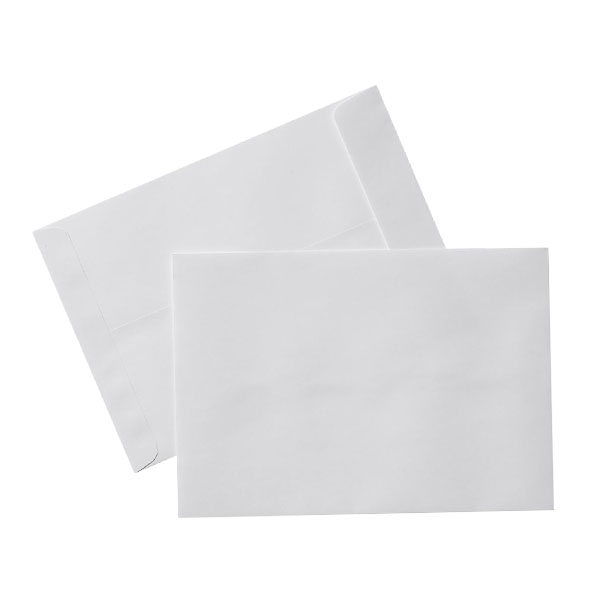 پاکت سفید A4(بسته ۱۰۰ تایی)
