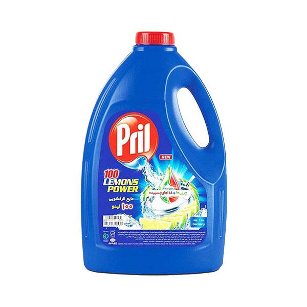 مایع ظرفشویی ۴ لیتری پریل