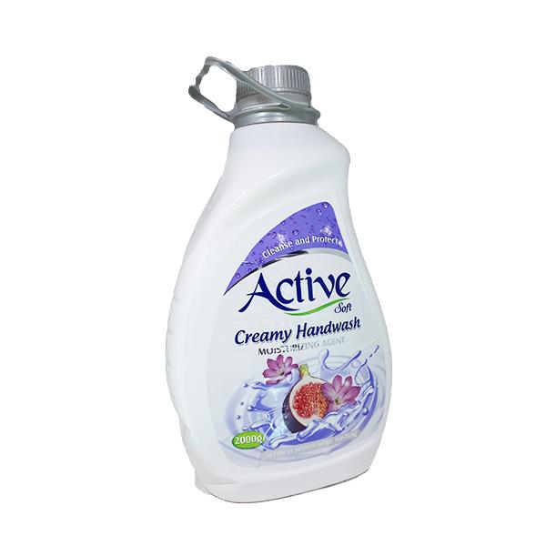 مایع دستشویی کرمی اکتیو (۲لیتری)